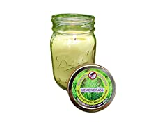 Natural Mosquito Repellent Candle