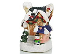 Christmas House Statue C