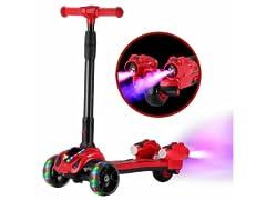 GlareWheel Kids Rocket Scooter