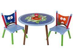 Owls Table and 2 Chair Set