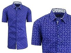 Men's Short Sleeve Slim Fit Shirt