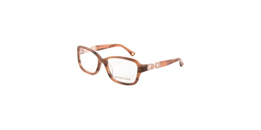 How Do I Know What Glasses Frame Size I Am : Michael Kors MK863 Eyeglasses Frame - Fashion