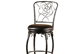 "Hillsdale Rose 30"" Bar Stool"
