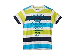 Iron & Steel Striped Tee (4-5,7)