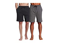 CYZ Men's Cotton Knit Sleep Shorts