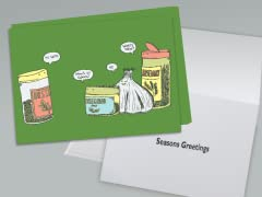 Seasons Greetings Greeting Card 10-Pack