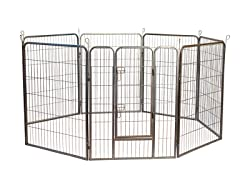 Heavy Duty Metal Tube Exercise and Training Playpen
