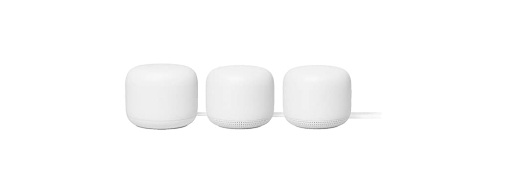Google Nest WiFi Router + 2 Points