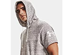 Under Armour Rival Terry Short Sleeve Hoodie
