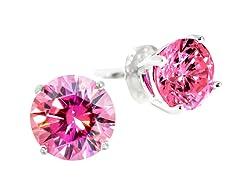 SS Pink 5cttw Earring