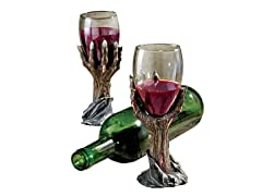 Toast of the Zombie Sculptural Goblet