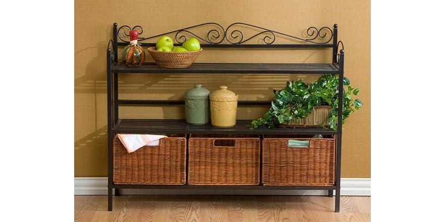 celtic three drawer baker 39 s rack. Black Bedroom Furniture Sets. Home Design Ideas