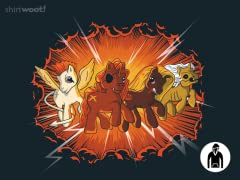 Four Little Ponies... Pullover Hoodie