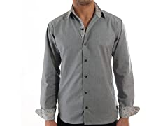 Lucky Luciano Platinum Slim Fit Casual Shirt