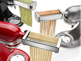KitchenAid 3-Piece Pasta Roller and Cutter Attachment