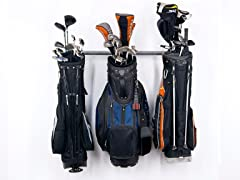 35-Inch Small Golf Bag Rack