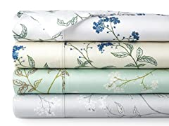 300TC Cotton Sateen Extra Deep Pocket Sheet Sets