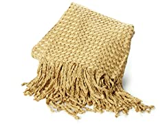 Tuscany 50x70 Throw-Honey