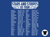 Stars and Stripes US Tour
