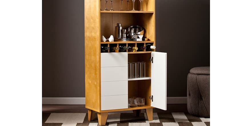 Halifax cabinet w wine storage for Kitchen cabinets halifax