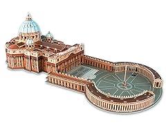 St Peters Basilica 3D Puzzle