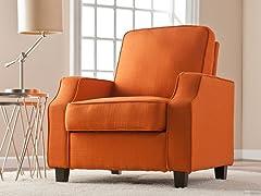 Parkdale Arm Chair - Orange