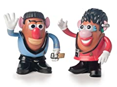Star Trek Mr. Potato Head 2-Pk Spock & Uhura