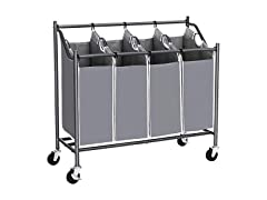 SONGMICS Laundry Cart Sorter