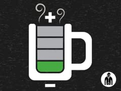 Coffee Levels Critical LW Hoodie