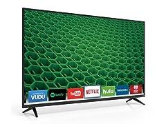 """VIZIO 55"""" 1080p Full‑Array LED Smart TV"""