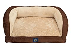 Serta Gel Memory Foam Couch Bed