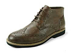 Men's Geneva Wing Tip Boots (Open Box)