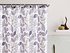 Larkin Embossed Shower Curtain