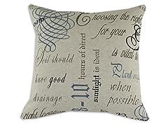 Chatsworth Indigo 17x17 Pillow