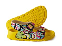 Yellow Multi 'Aruba' Sandal