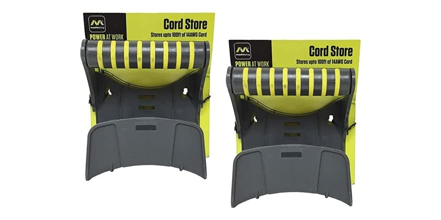 Masterplug Extension Cord Wall Mount (2-Pack) | WOOT