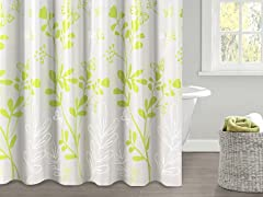 Valerie PEVA Shower Curtain