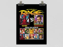 Reynolds of Rage Matte Poster
