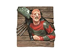 Freddy Krueger 3D Wallbreaker Decoration