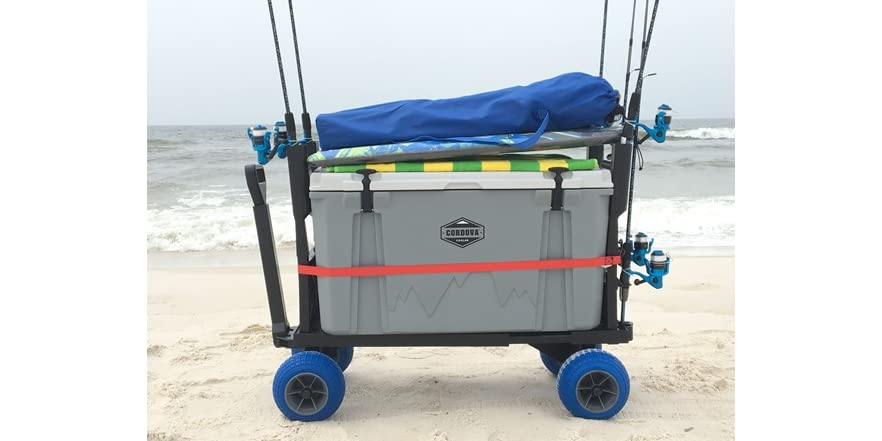 Plus one flatbed cooler caddy and fishing cart for The fishing caddy