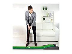 Putting Green with Gravity Fed Golf Ball Return