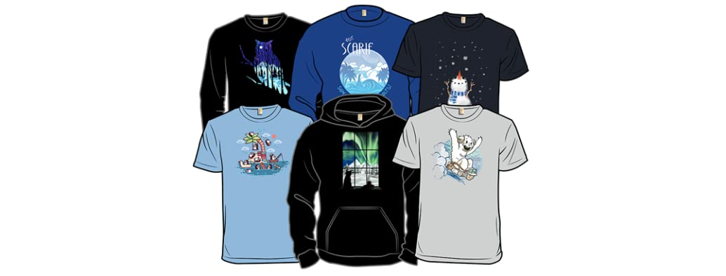Derby Editor's Choice T-Shirts: Winter Getaway!