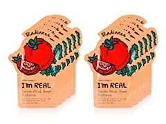 I'm Real Tomato Mask Sheet -  10 Pack
