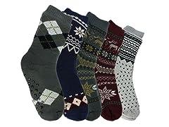 Nextex Men's Assorted Sherpa Socks 3Pair