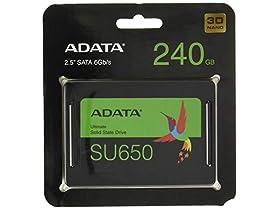 """ADATA ADATA SU650 240GB 3D-NAND 2.5"""" SATA III"""