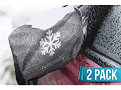 Mirror Snow Cover- 2 Pack