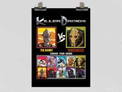 Killer Droids Matte Poster