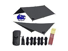 Chill Gorilla Hammock Rain Fly Camping Tarp