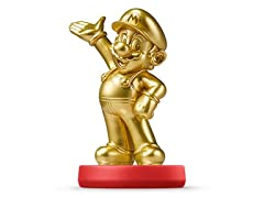 New Amiibo Gold Mario Japan Version