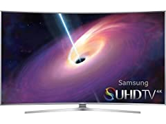 "Samsung 78"" Class JS9500 Curved 4K SUHD Smart TV"